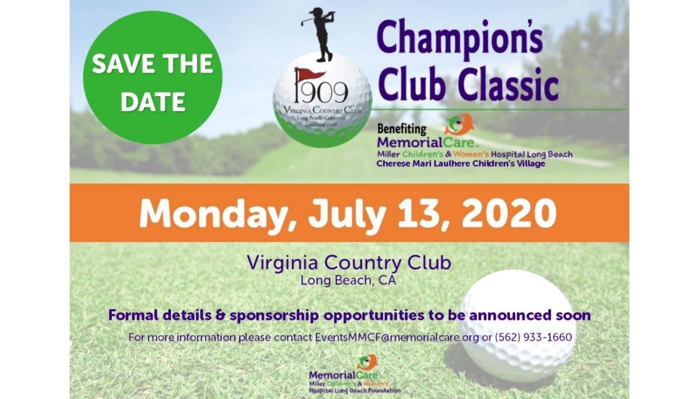 11th Annual Champion's Club Classic Golf Tournament