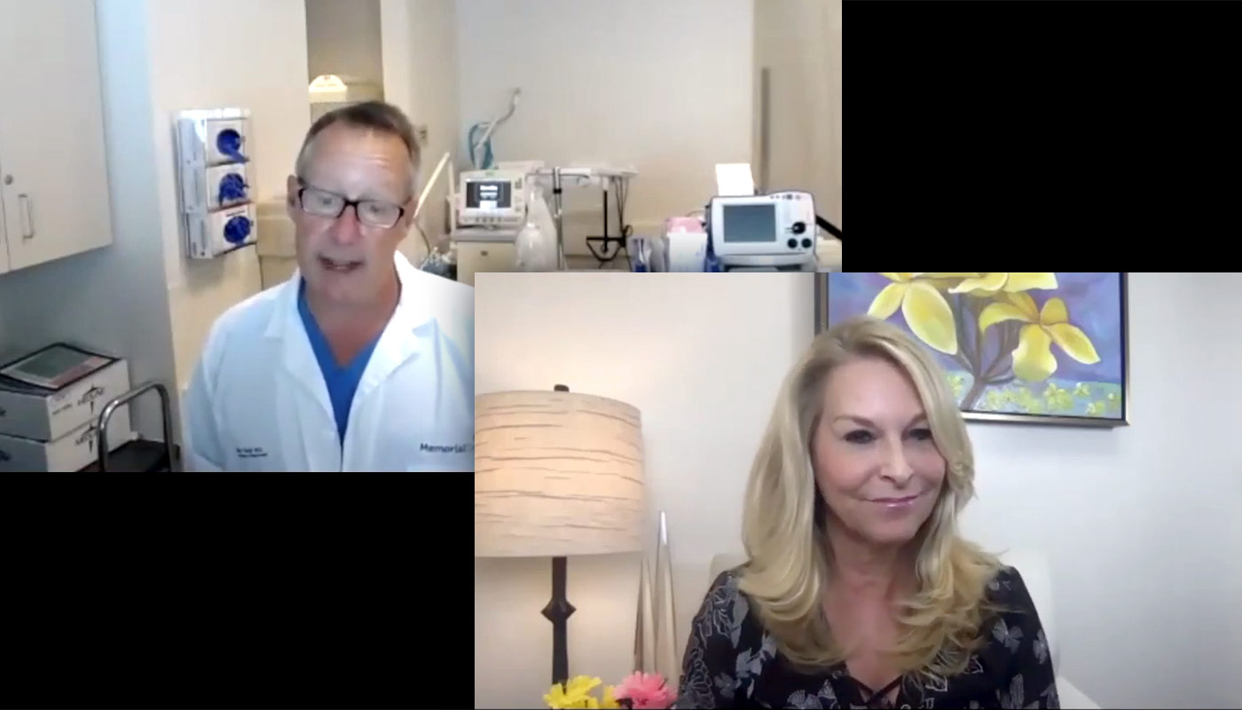 Dr. Taub Interviewed by Lisa Hart