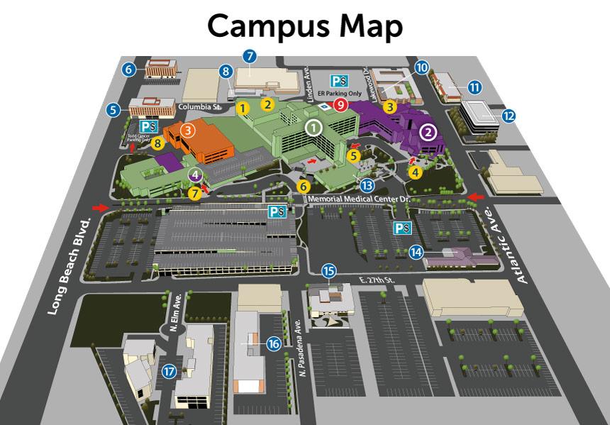memorial medical center locations