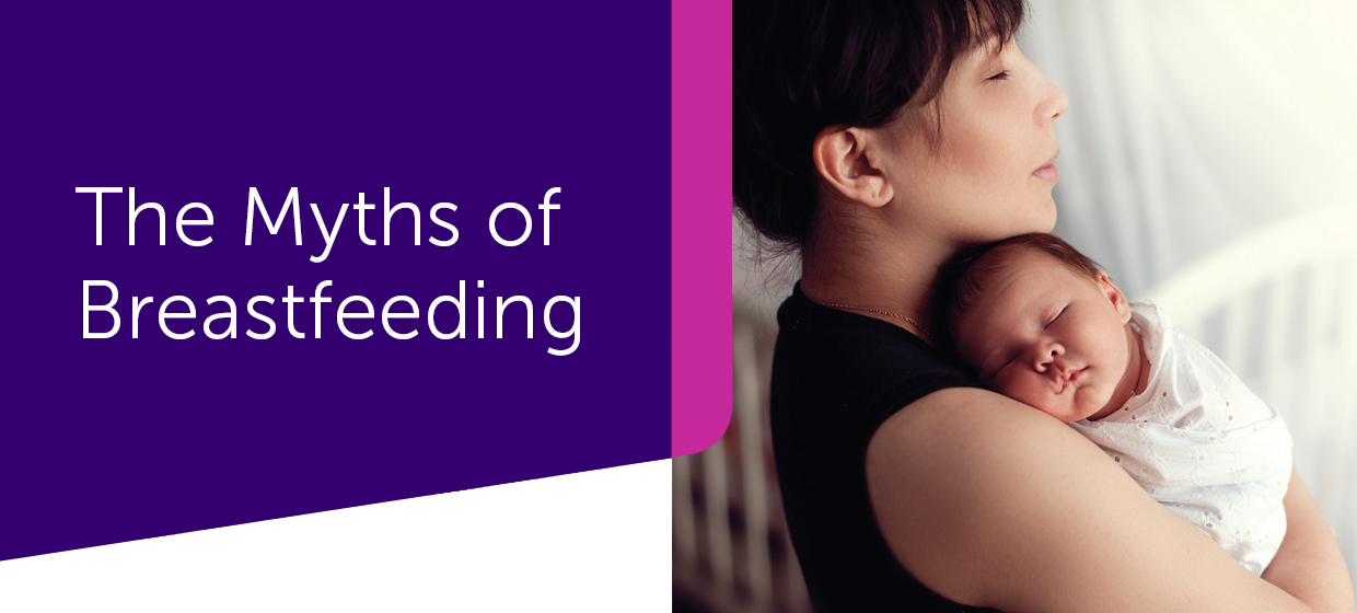myths of breastfeeding