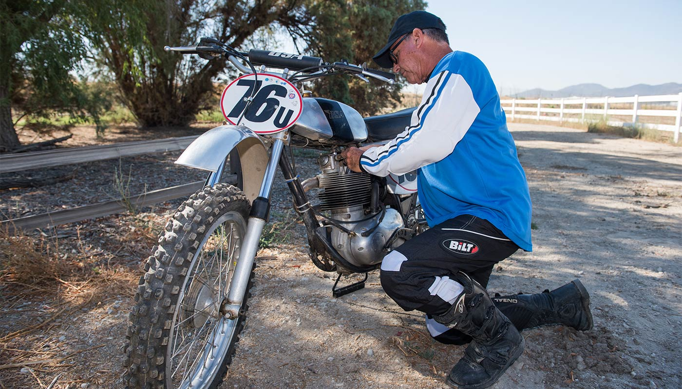 Racing motocross competitively two month post Mako™ Partial Knee.