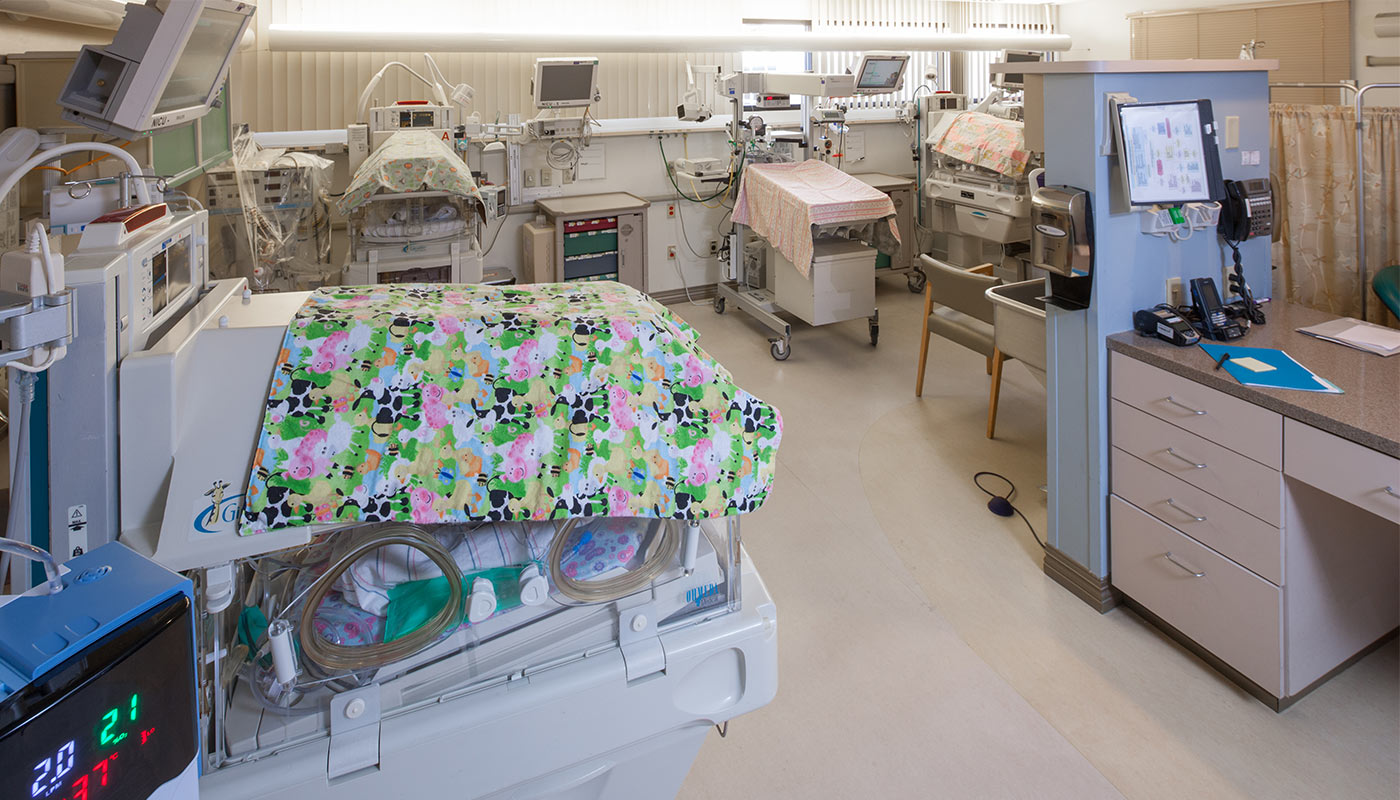 Including an on-site neonatologist available 24/7 who is dedicated to caring for ill or premature infants, and multiples, if additional care is needed