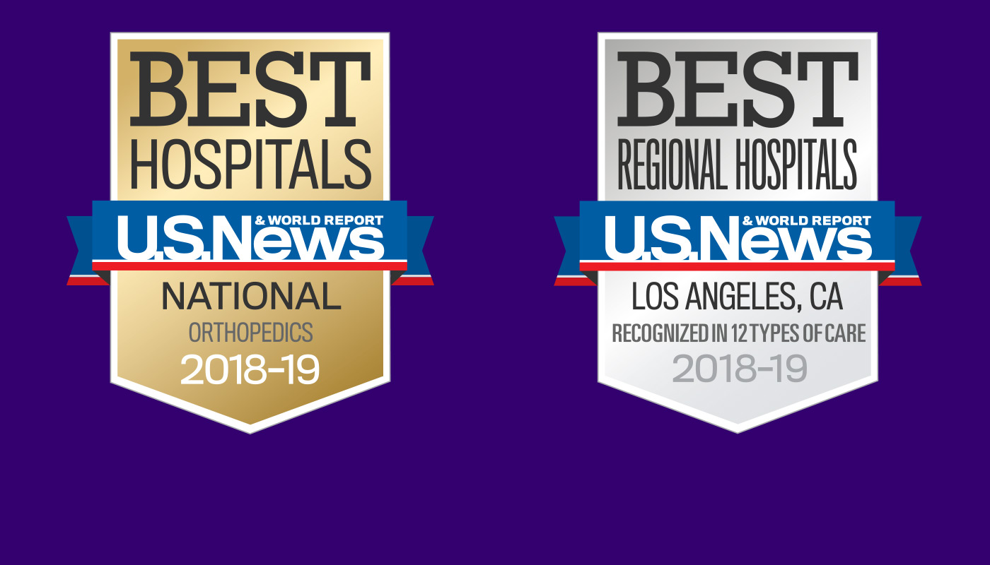 Nationally Recognized by U.S. News & World Report.